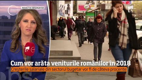 Schimbări importante de la 1 ianuarie. Ce se va întâmpla cu salariile românilor în 2018
