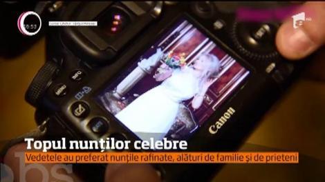 2018, anul nunţilor discrete