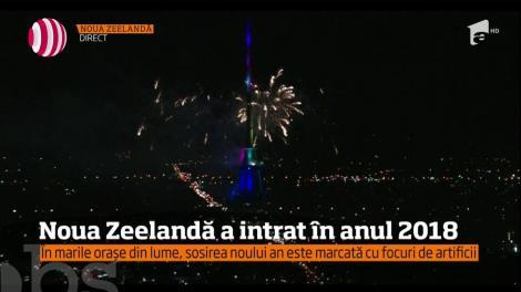 Noua Zeelandă a intrat în anul 2018