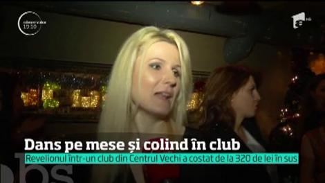 De Revelion, dans pe mese și colind în club
