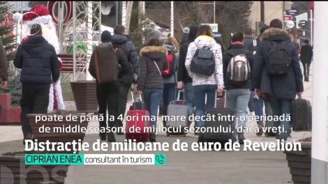 Distracție de milioane de euro de Revelion
