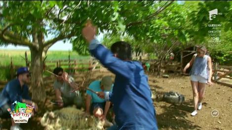 """Liviu Vârciu, bătut măr de Nea Mărin! """"Să moară dracii ăia mari, uite ce ai făcut!"""""""