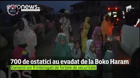 Peste 700 de ostatici ai grupării teroriste Boko Haram au reuşit să evadeze în noaptea de Revelion