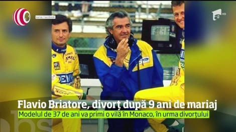 Fostul şef din Formula 1, Flavio Briatore, s-a despărţit de soţia sa