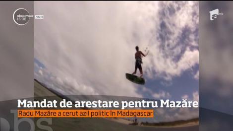 Mandat de arestare pentru Radu Mazăre