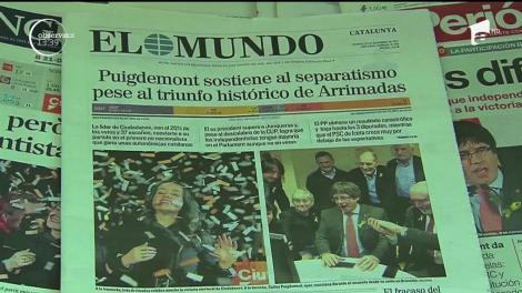 Carles Puigdemont are şanse mari să ajungă din nou în fruntea Cataloniei