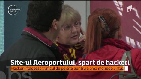 Site-ul aeroportului din Craiova a fost infectat de hackeri