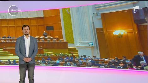 Miniștrii, muți în Parlament. Doi dintre membrii Executivului au deschis gura de la tribuna parlamentului doar cât să rostească jurământul de credinţă