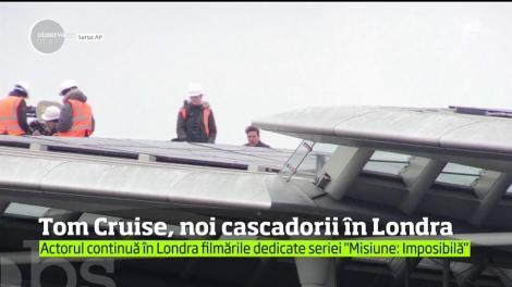 Celebrul actor Tom Cruise a blocat circulaţia în centrul Londrei