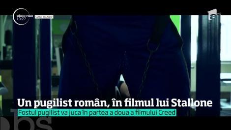 """Pugilistul român Florian Munteanu, în filmul lui Sylvester Stallone, """"Creed 2"""""""