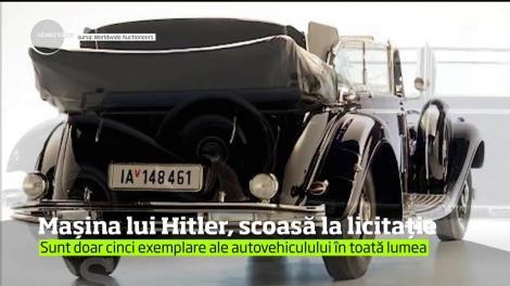 Maşina lui Adolf Hitler va fi scoasă la licitaţie în statul american Arizona