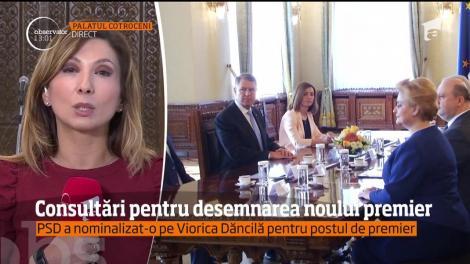 Consultări la Cotroceni, pentru desemnarea noului premier!