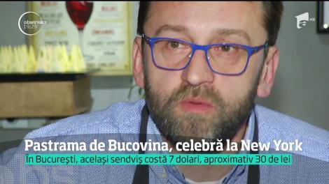 Pastrama de Bucovina, celebră la New York