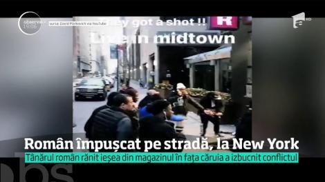 Un turist român a fost împuşcat în inima oraşului New York, într-un schimb de focuri între doi rivali