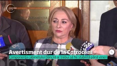 Viorica Dăncilă a fost audiată de parlamentarii de la UDMR