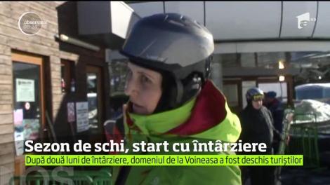 Bâlbele autorităţilor din Vâlcea au întârziat startul sezonului de schi la Voineasa