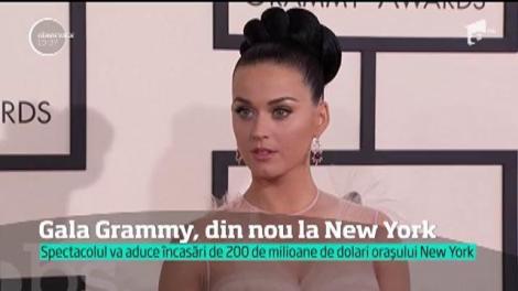 Gala Grammy, din nou la New York. Spectacolul va aduce încasări de 200 de milioane de dolari