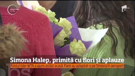 Fanii Simonei Halep au ocupat aeroportul Henri Coandă!