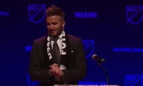 David Beckham şi-a lansat propria echipă de fotbal la Miami