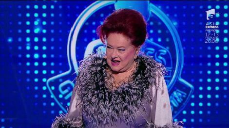 """Stela Popescu pe scena Guess My Age. Concurenta a izbucnit în lacrimi: """"Nu pot să cred. E ceva la care visam de-o viață"""""""