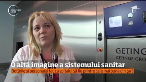 Spitalului Judeţean de Urgenţă din Baia Mare, personal și aparatură ca în Occident