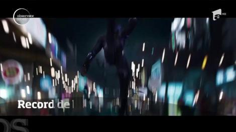 """Pelicula """"Pantera Neagră"""" a depăşit recordul de bilete vândute în avans mai mult decât oricare alt film cu eroi"""