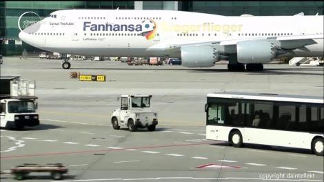 Momente de panică pe aeroportul din Frankfurt