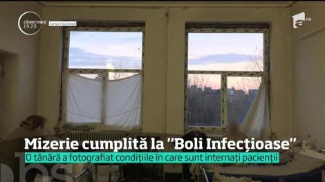 Imaginile groazei într-un spital din România anului 2018. Pacienţii cu boli infecţioase sunt internaţi în saloane care arată ca nişte subsoluri