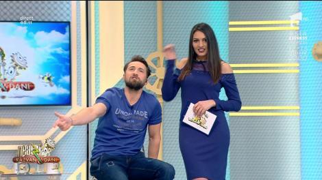 """Gelozie mare! Flavia, către Dani: """"Știi poezia Gelozie a lui Topârceanu? -Dacă nu ne-am fi-ntâlnit -Tu pe altul oarecare -Tot așa l-ai fi iubit"""""""