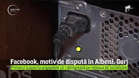 E scandal mare în localitatea Albeni, din judeţul Gorj