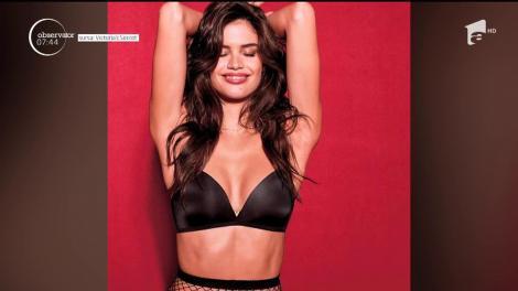 VIDEO pentru domni! Noii îngeraşi Victoria's Secret s-au lăsat fotografiaţi în cea mai recentă campanie de promovare a casei de lenjerie intimă
