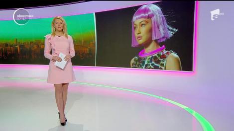 Gigi Hadid a făcut senzaţie pe podium la Săptămâna Modei de la New York