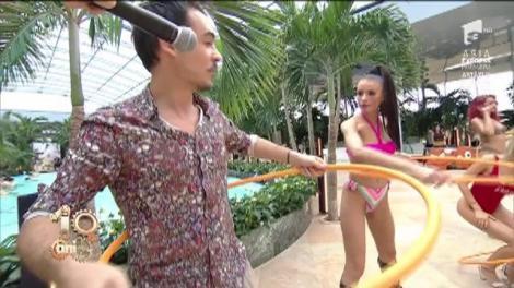 Concurs inedit de hula hoop, la Neatza