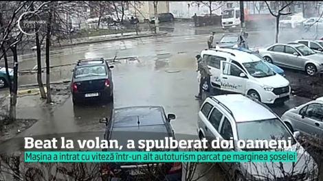 Beat la volan, a spulberat doi oameni