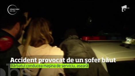 Un şofer din Capitală a sfidat legea. S-a urcat băut la volan şi a provocat un accident rutier
