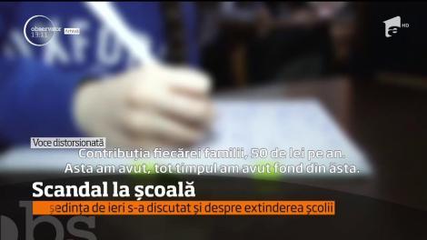 Revoltă la o şcoală din Baia Mare, părinţii acuză că li se cer bani cu nemiluita