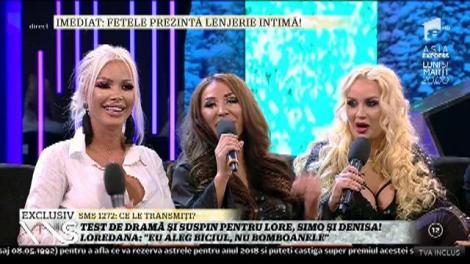 """Test de dramă și suspin pentru Chivu, Trașcă și Despa! Loredana: """"Eu aleg biciul, nu bomboanele"""""""
