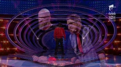 """Tu ţi-ai fi dat seama? """"Omul Vârcolac"""", pentru prima oară într-un platou de televiziune din România. Chuy le-a dat bătăi de cap concurenţilor noştri: """"Credeţi-mă, o să vi se aburească ochelarii"""""""