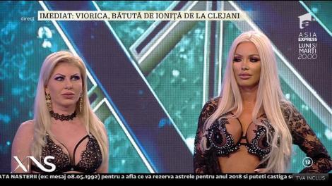 Imagini incendiare la Xtra Night Show! Simona Trașcă, Denisa Despa și Loredana Chivu, rezentare de modă în costume sexy