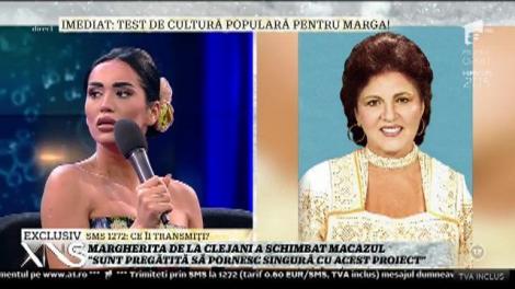 Test de cultură populară pentru Margherita de la Clejani!
