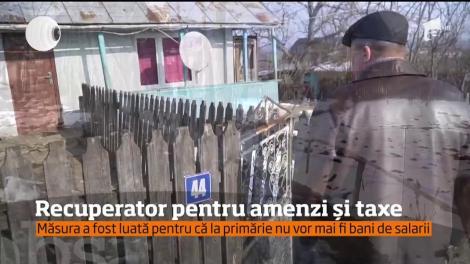 """Un primar din Botoșani şi-a transformat un subordonat în """"recuperator"""""""