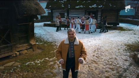 """Marea premieră """"Ie, Românie"""".  Mircea Radu și jurații caută frumusețile satului românesc: """"Trei români vestiți / De voi toți iubiți / Umblă-n toată țara / Să-i afle comoara"""""""