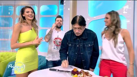 """Jean Paler, coșmarul bucătarilor, bucuria românilor: """"Doamne, cum e! Se simte GUSTUL COTEȚULUI! Dacă știa rața asta că  ajunge la mine în gură, nu măcănea toată viața"""""""