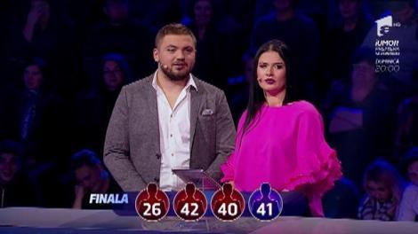 """Bogdan și Daiana nu au reușit să își realizeze visul! Cei doi concurenți au fost învinși de provocările de la """"Guess My Age-Ghicește vârsta""""!"""