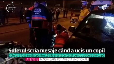 Şoferul care a spulberat o familie întreagă la Constanţa ar fi fost atent la telefonul mobil