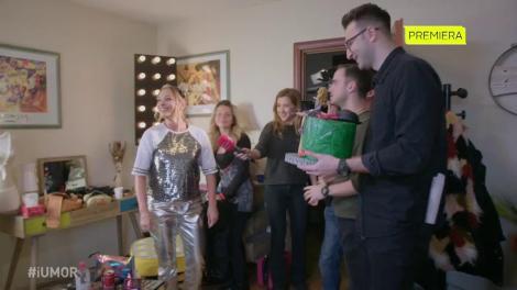 De ziua ei de naștere, Delia primește un tort din partea echipei
