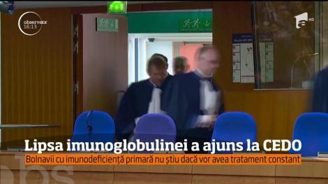 Problema imunoglobulinei în România ar putea ajunge la CEDO!