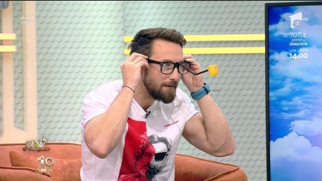 """Răzvan și Dani lansează noi provocări la Neatza: """"Kendama cu nasul""""! Lidia Buble, prima victimă: """"Bila trebuie să cadă în ou!"""""""