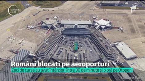 Români blocați pe aeroporturi