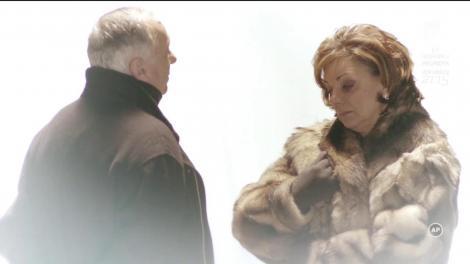 """""""De ce e așa de frig?"""" Roxana Baicu-Popovici (Carmen Tănase), întâlnire cu Traian (Paul Chiribuță) în lumea de dincolo"""